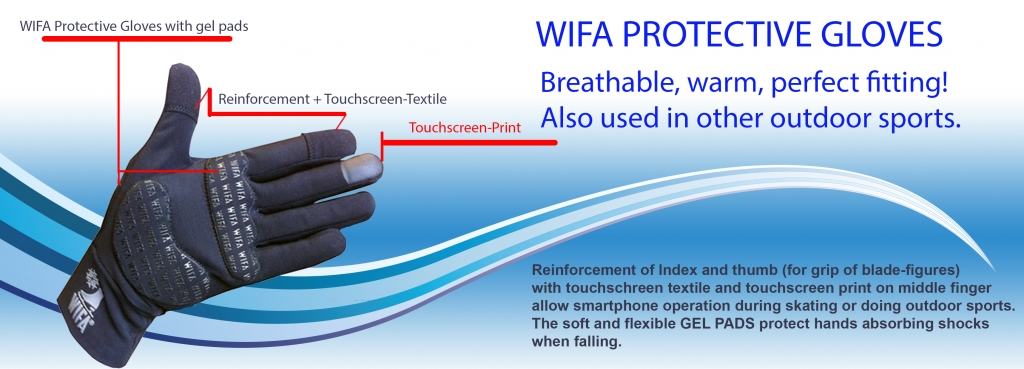 Перчатки Wifa с протектером