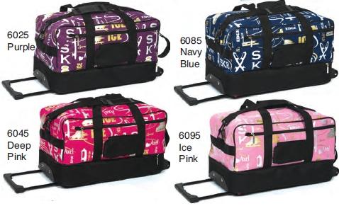 Сумка на колесах Jerry`s Skates 6025, 6045, 6085, 6095 - Graffiti Skate Bag on Wheels